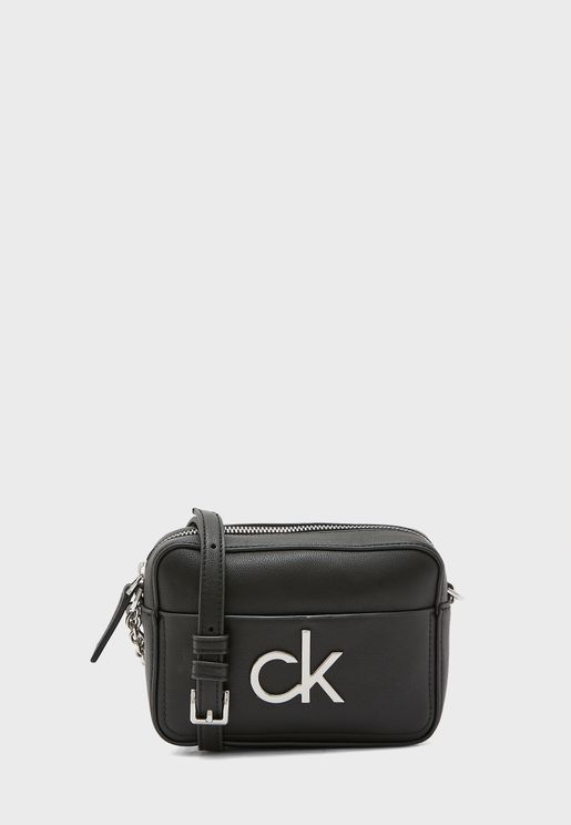 Logo Crossbody Camera Bag