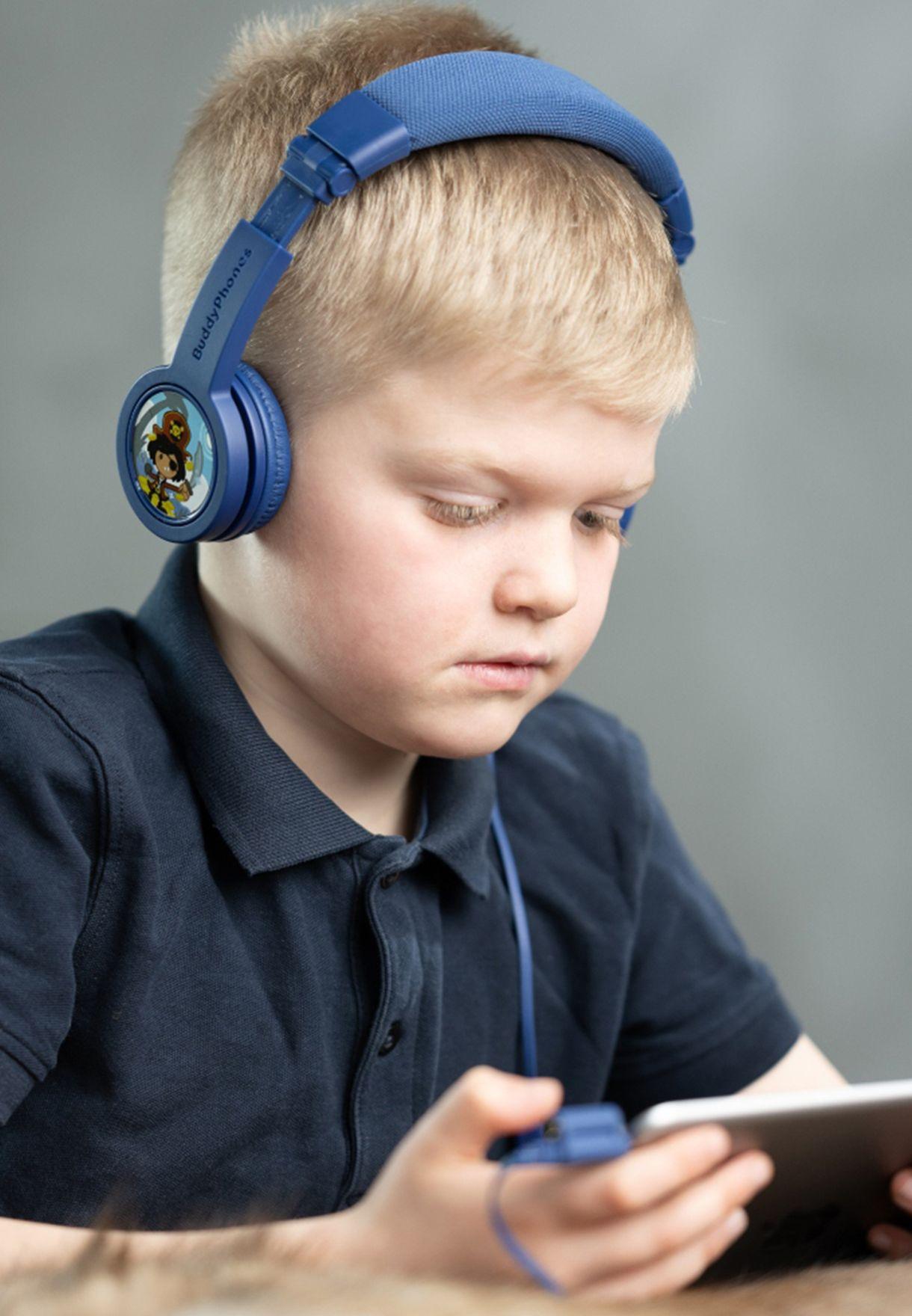 سماعات اذن لاسلكية قابلة للطي مع ميكروفون