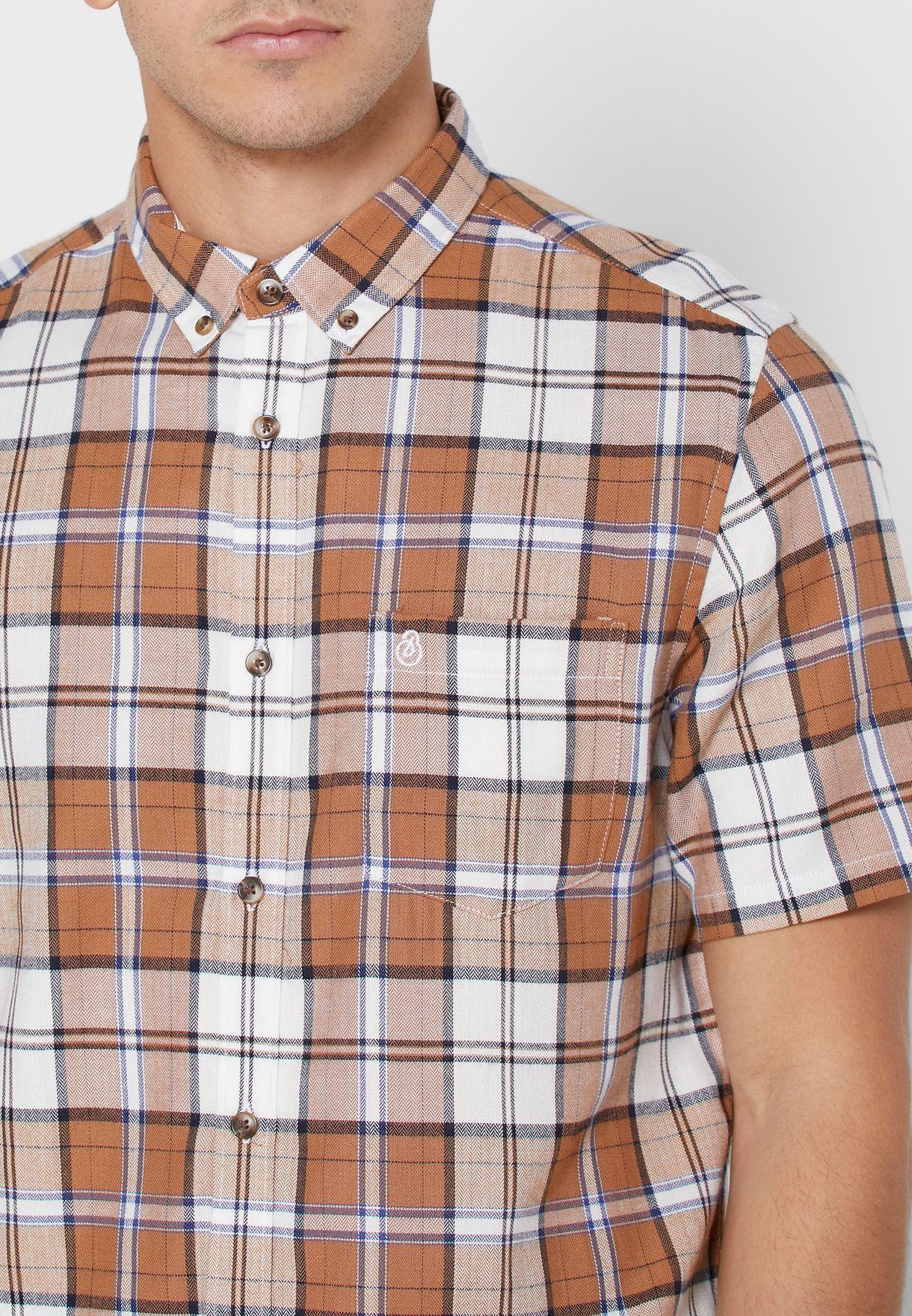 Check Slim Fit Shirt