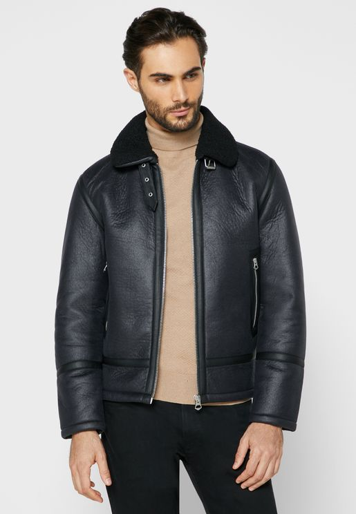 Eagle Contrast Edge Jacket