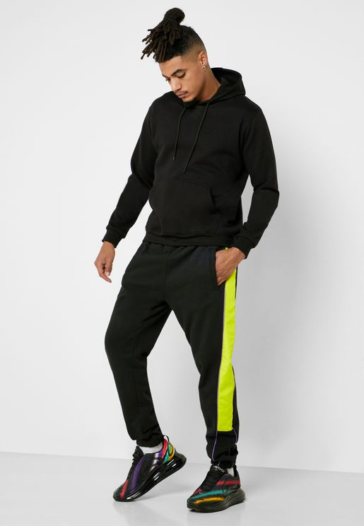 Neon Stripe Sweatpants