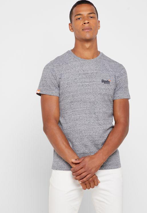 Orange Label Vintage Crew Neck T-Shirt