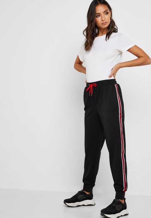 Side Striped Joggers