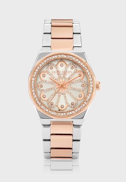 Alessandra Quartz Analog Watch