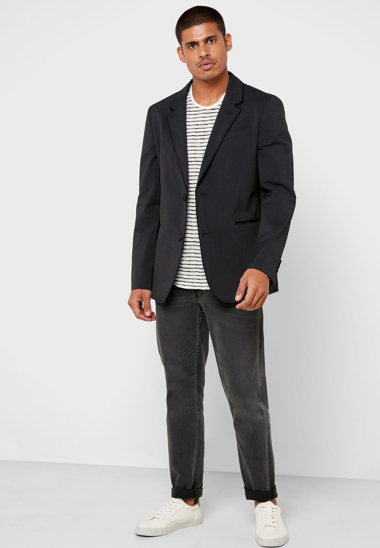 Tucker Striped Blazer