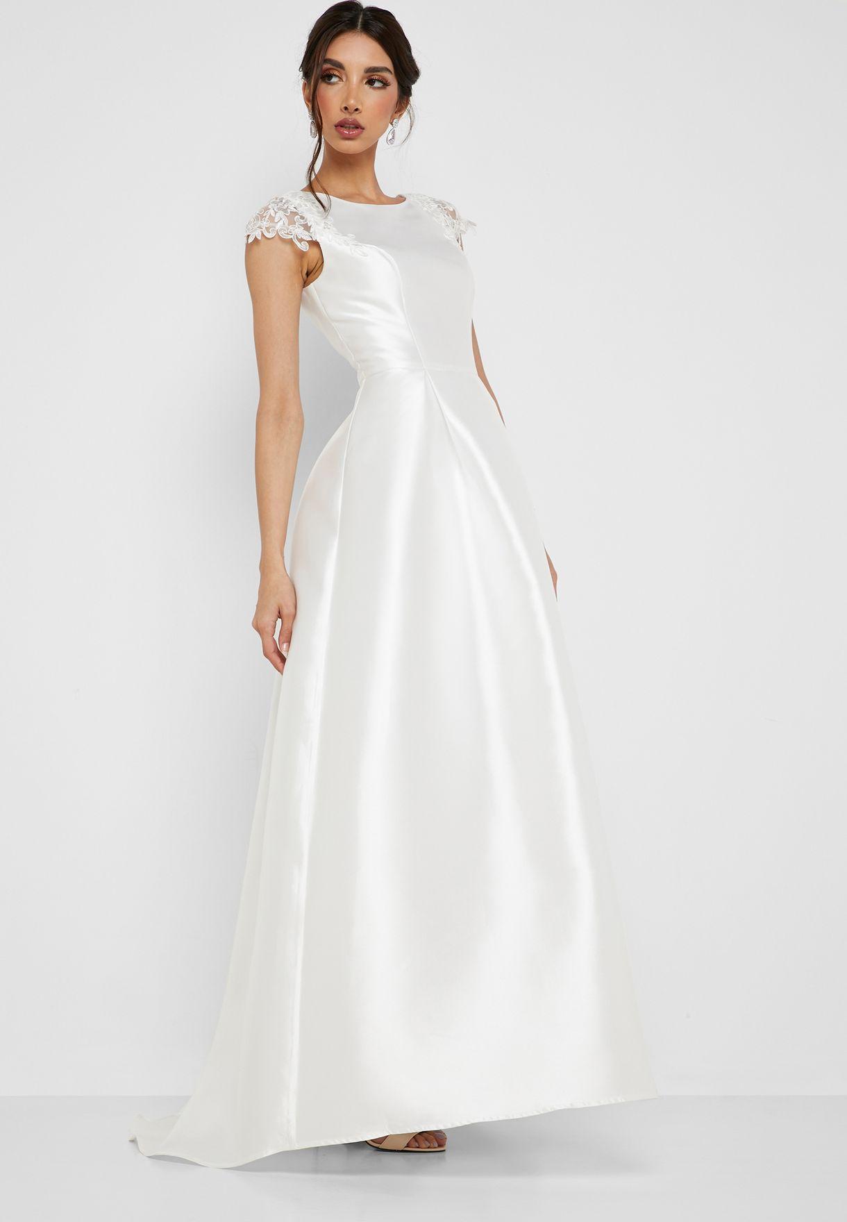 Embellished Bridal Dress