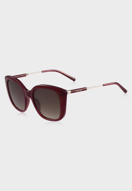CK3200S Square Sunglasses