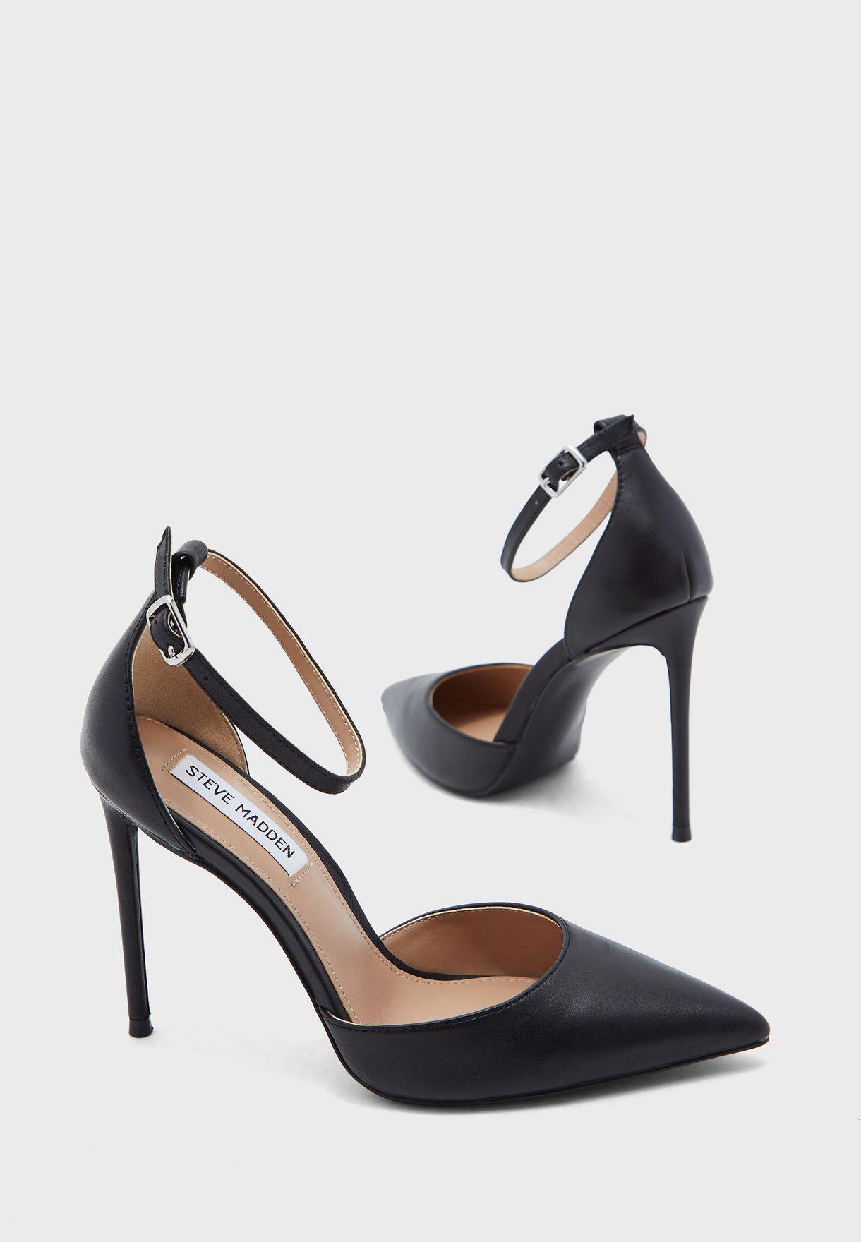 Volt Ankle Strap High Heel Pump