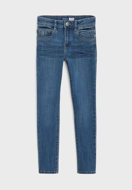 Kids Denim Slim Jeans