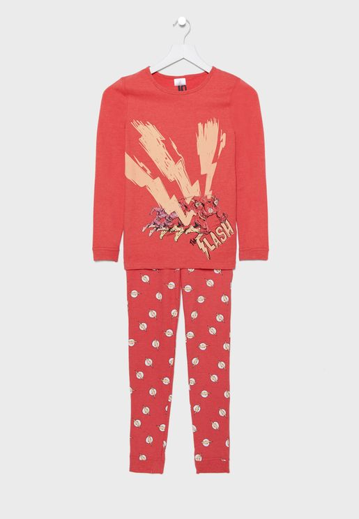 Kids Flash Pyjama Set