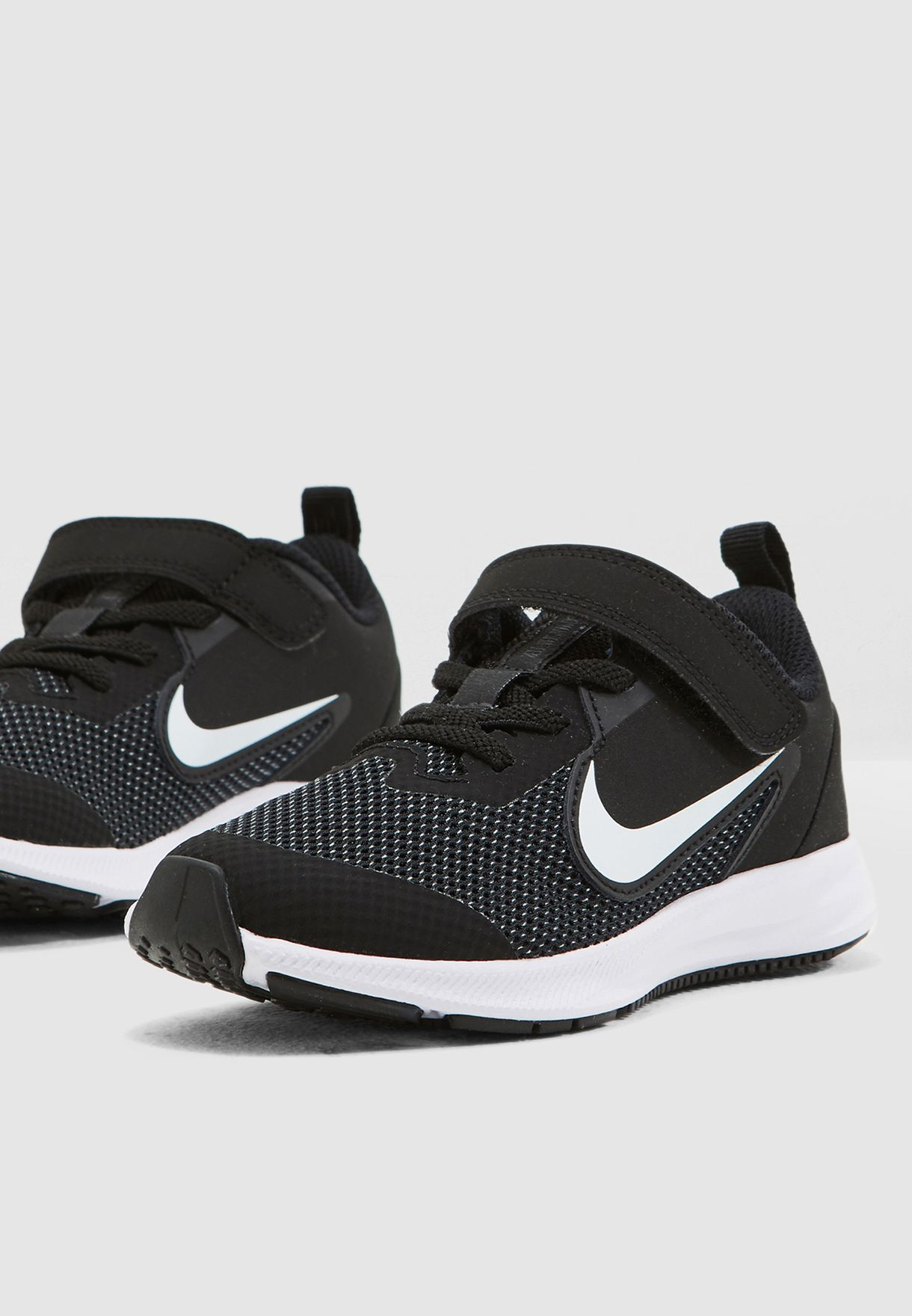 b716bcfb2e30 Shop Nike black Kids Downshifter 9 AR4138-002 for Kids in UAE ...