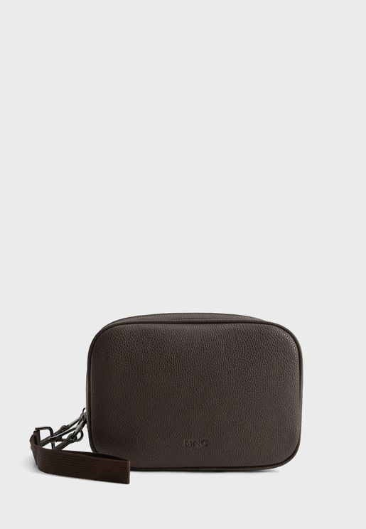 Suitcase Zip Through Toiletry Bag