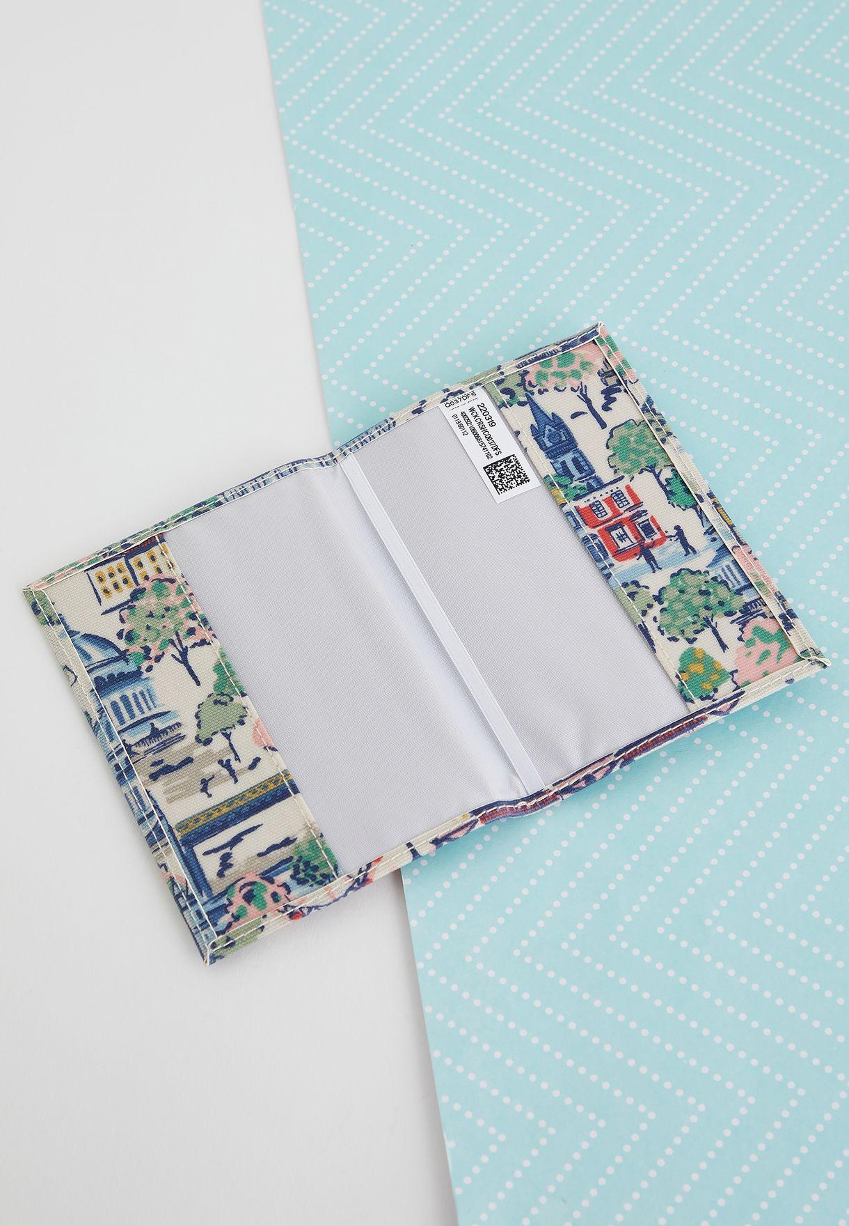 مجموعة من حافظة جواز سفر وبطاقة تعريف الامتعة