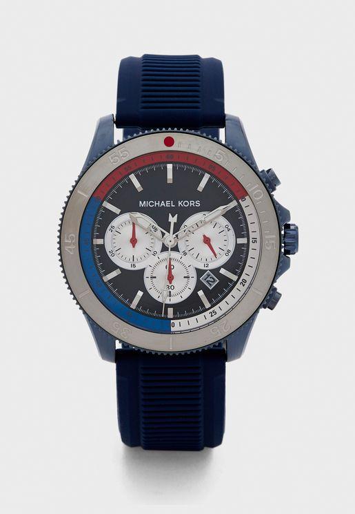 MK8708 Three Circle Dated Watch