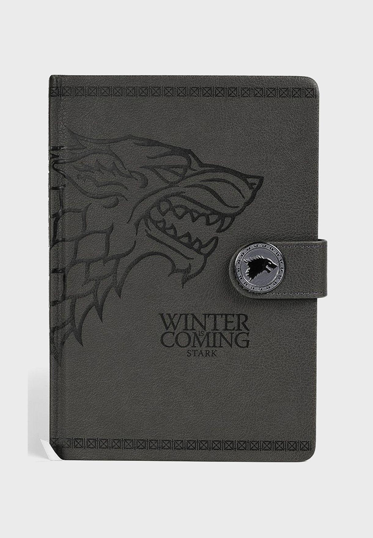 Games Of Thrones Stark Notebook