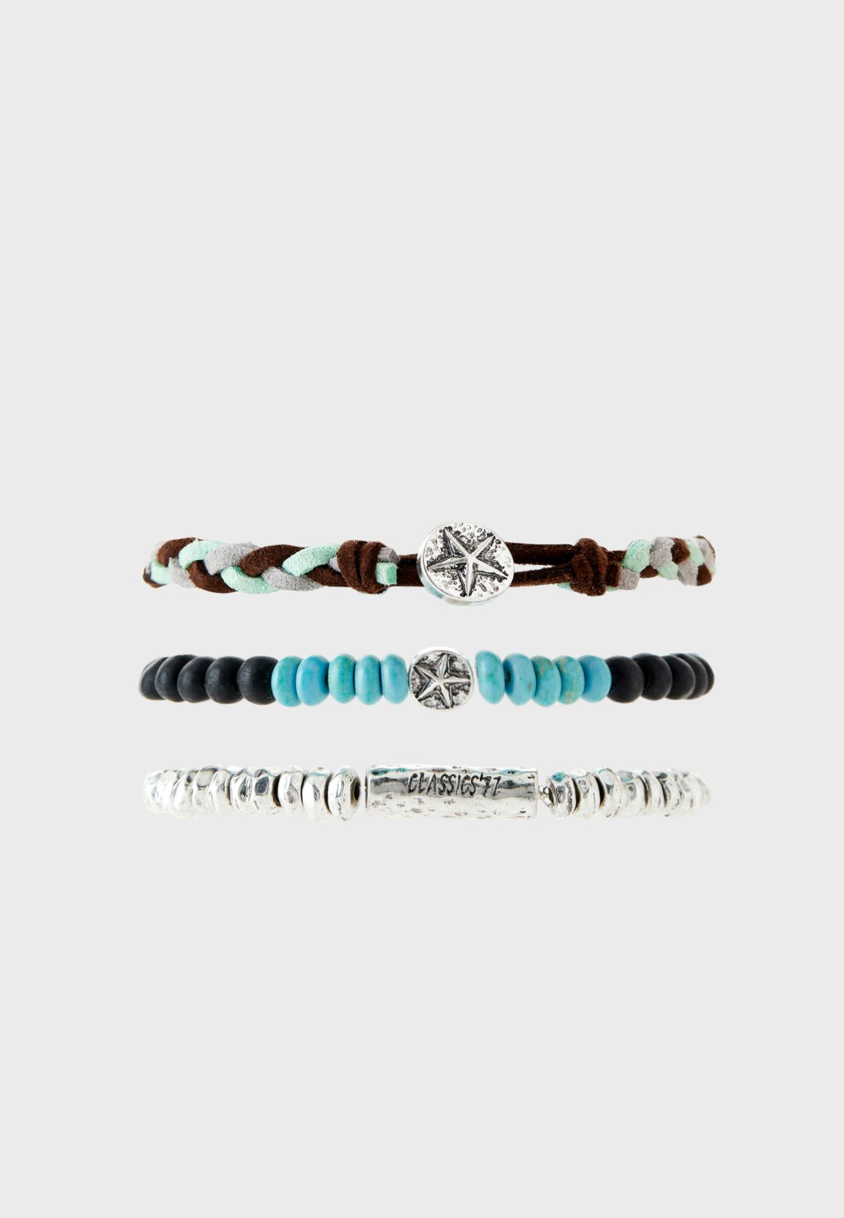 3 Pack Shipwrecked Mixed Bracelet