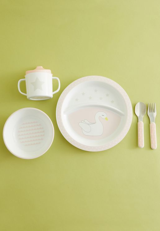 Swan Dinnerware Set