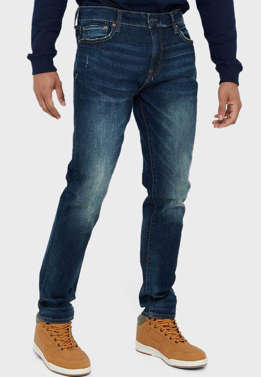 جينز سكيني بخمسة جيوب