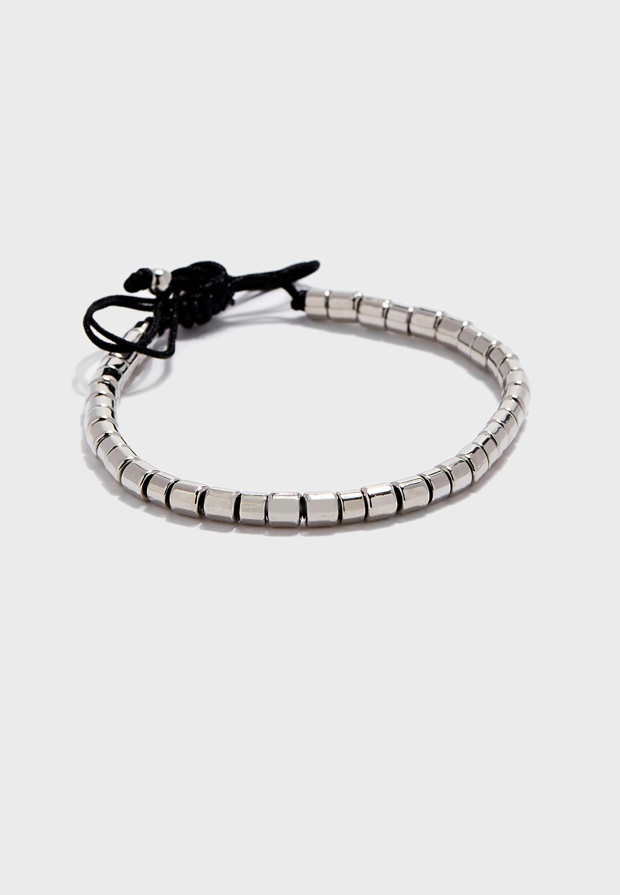 Logan Barrel Bead Bracelet
