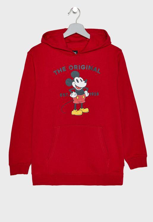 Kids Mickey 90th Classic Hoodie