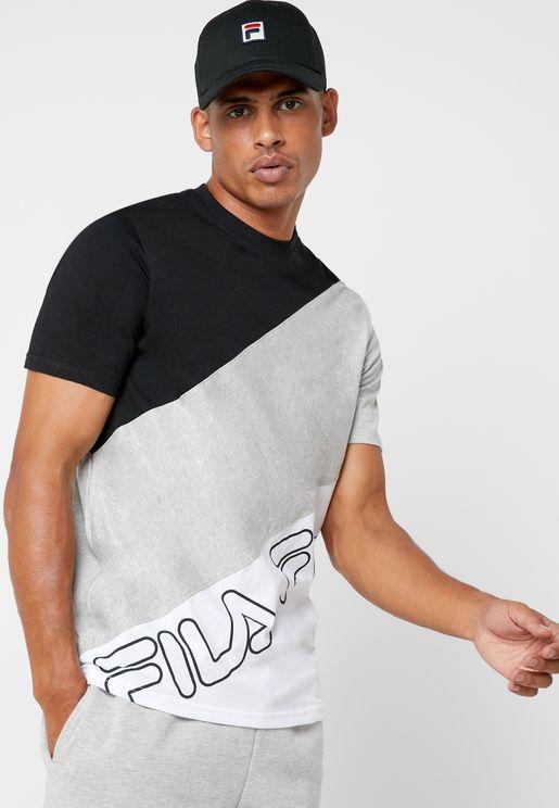 Grove Diagonal Block T-Shirt