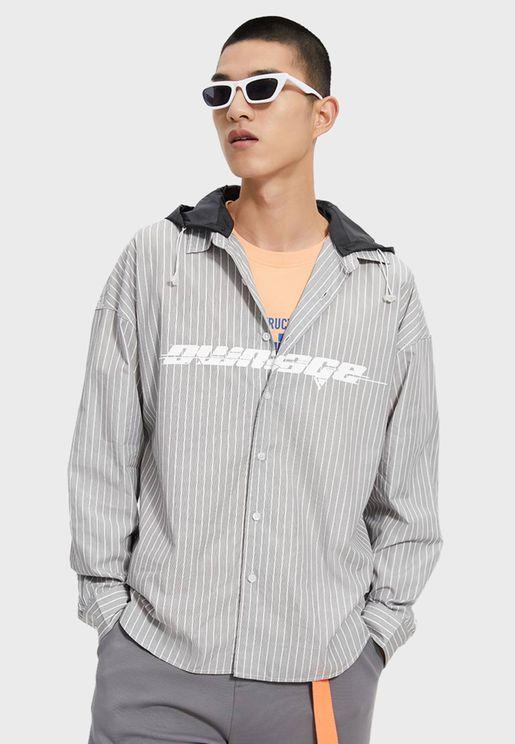 Casual Printed Polo Shirt
