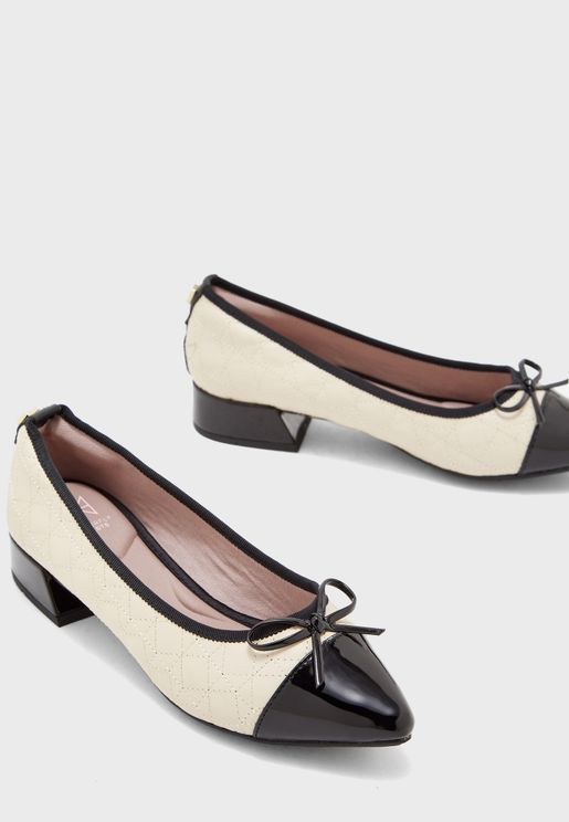 Lydia Low Heel Pump