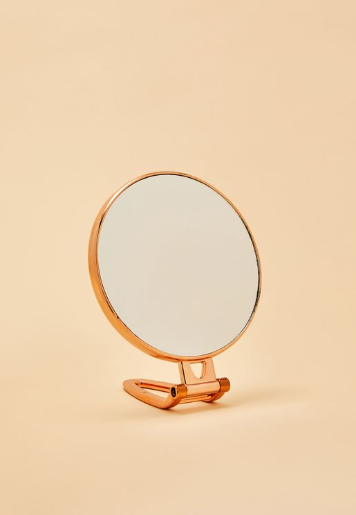Rose Gold Desk Mirror