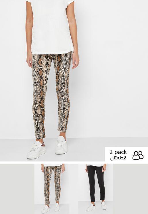 2 Pack Overbump Leggings