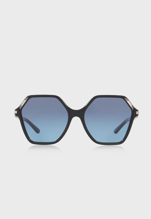 0TY7139 Oversized Sunglasses