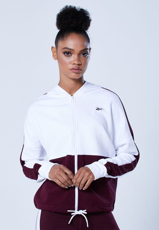 Linear Logo Elements Sports Training Sweatshirt