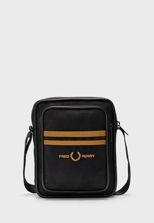 Twin Tipped Messenger Bag