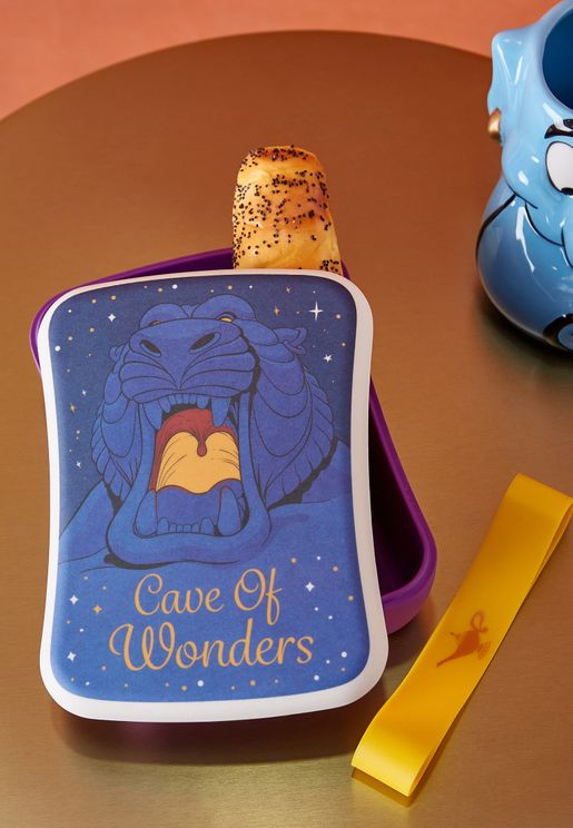 Disney Aladdin Bamboo Lunch Box
