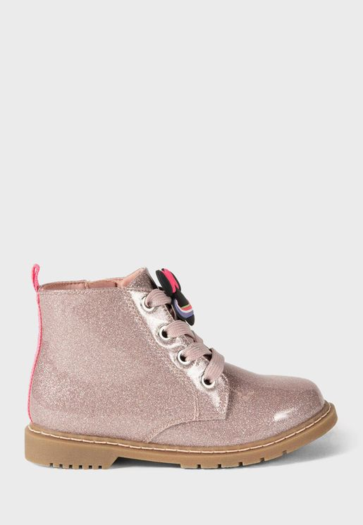 Kids Minnie Space Boots