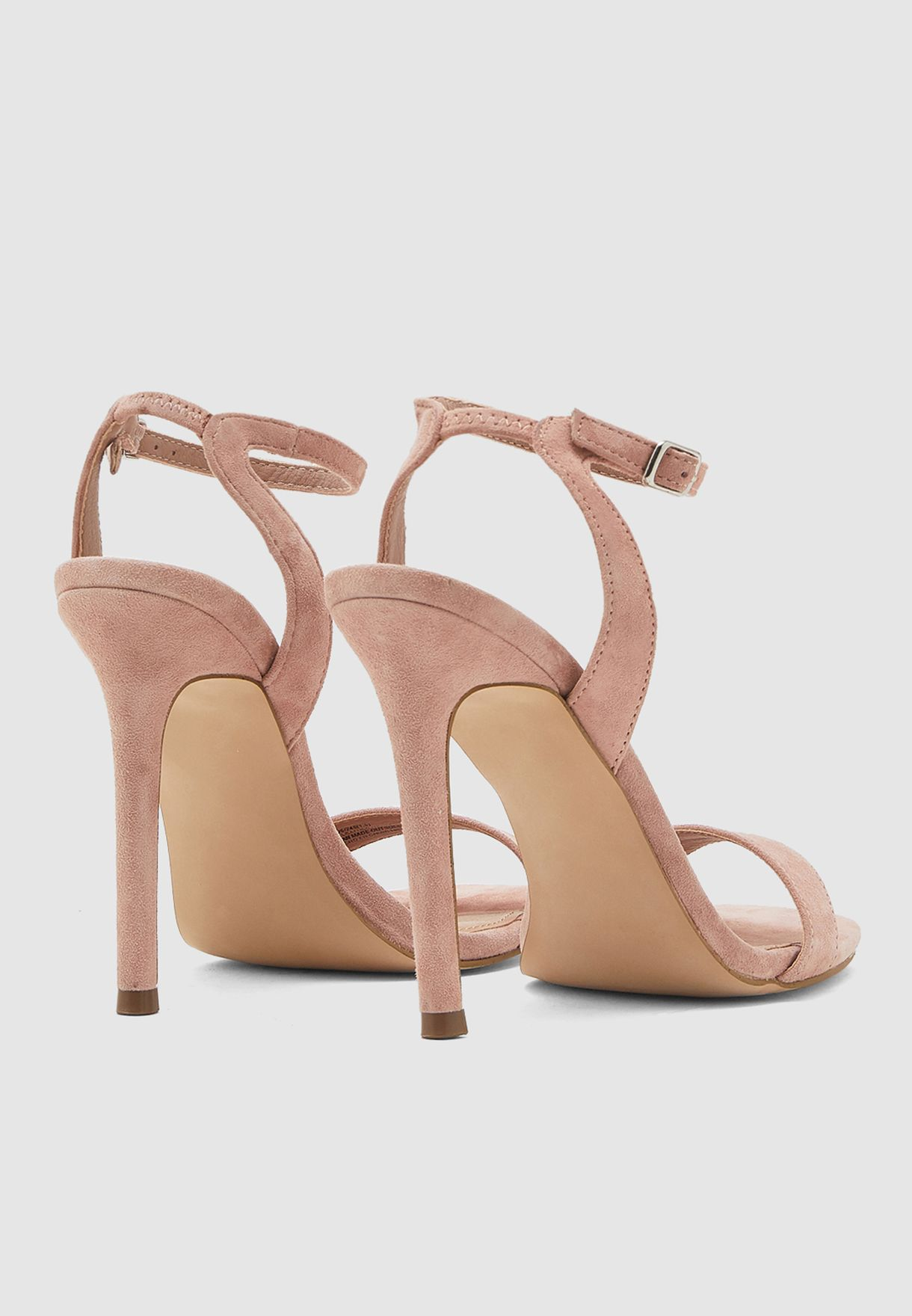 Late Ankle Strap Sandal - Pink