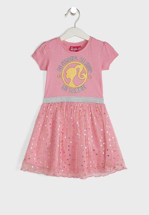 Kids Colour Block Dress