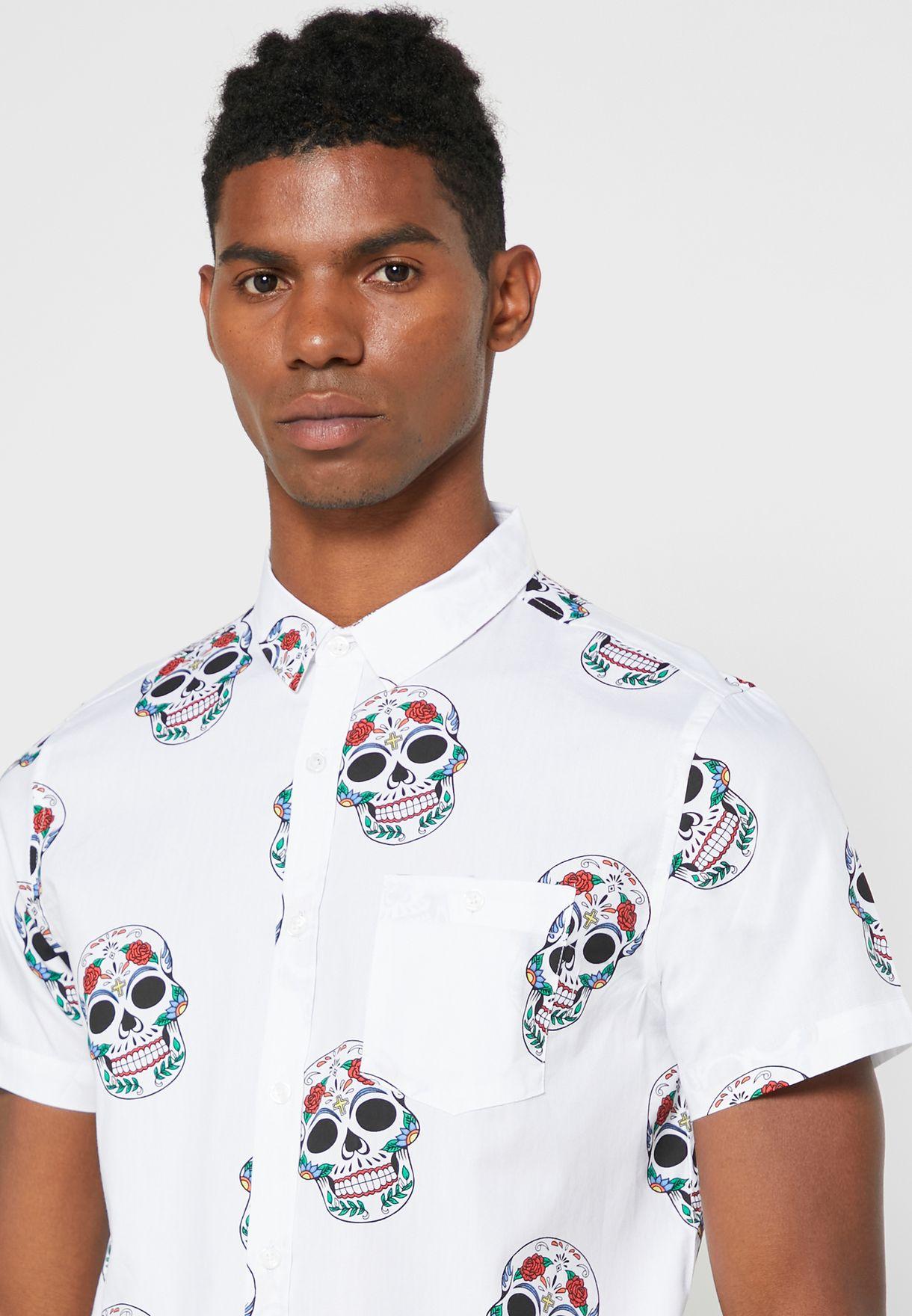 Skull Printed Shirt