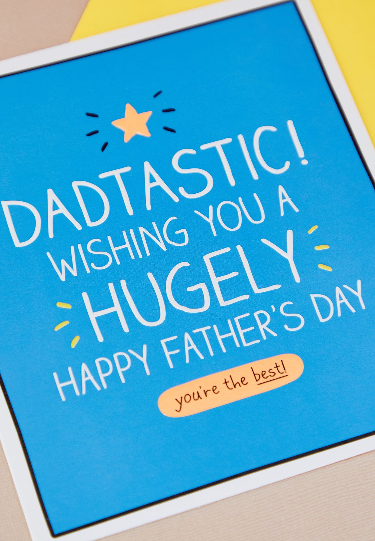 Dadtastic Father's Day Card