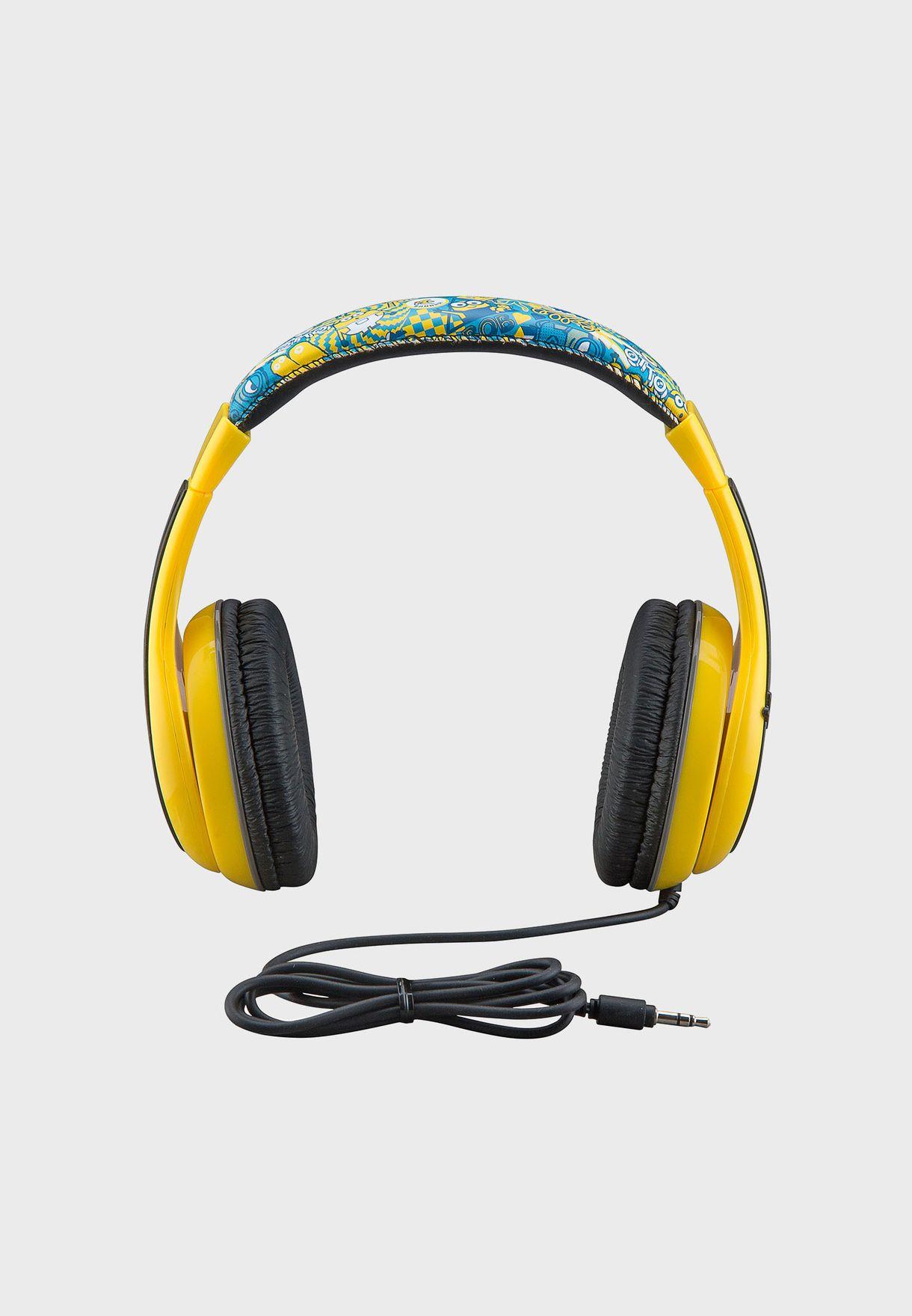 Minions Over Ear Headphones