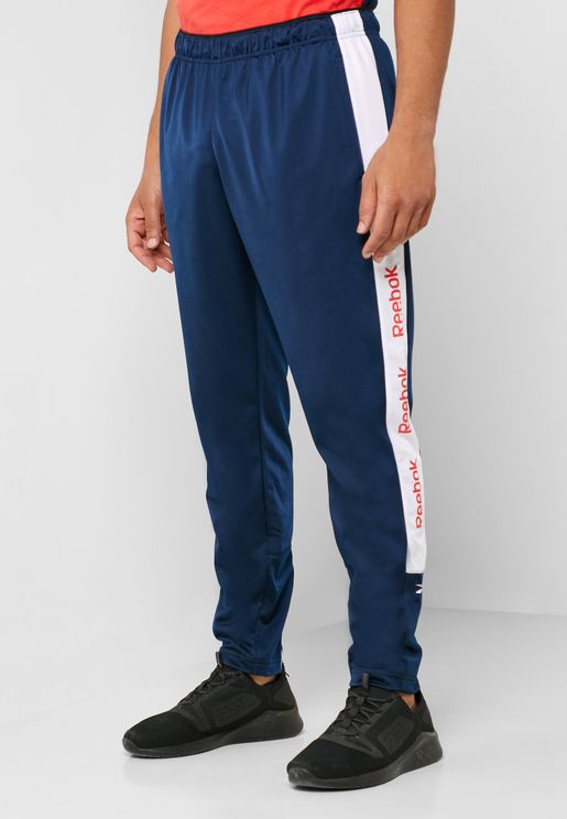 Training Essential Linear Logo Track Pants
