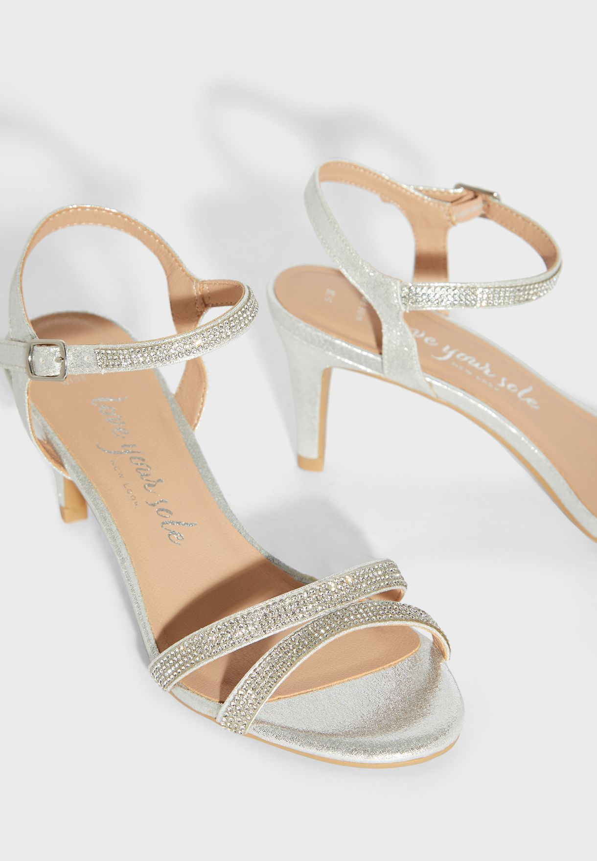 Wide Fit Taweety Ankle Strap Sandal