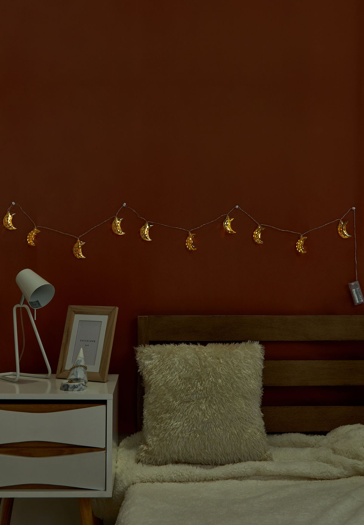 Gold Moon Decoration Lights