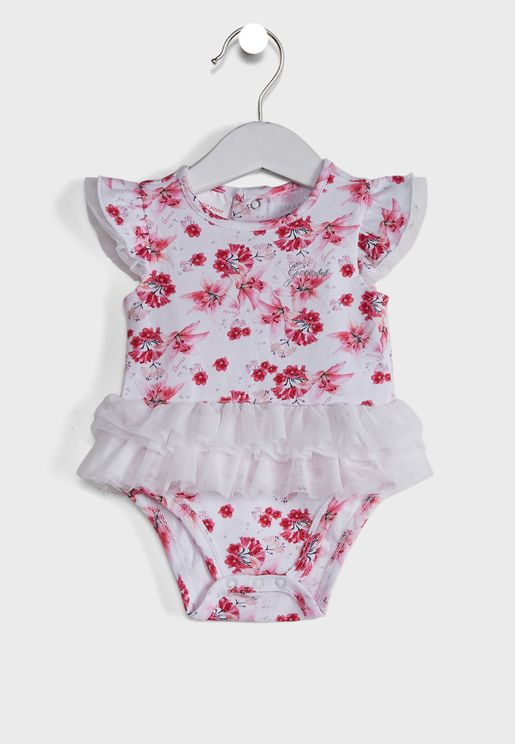 Infant Hem Ruffle Bodysuit