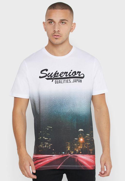 Steven Crew Neck T-Shirt