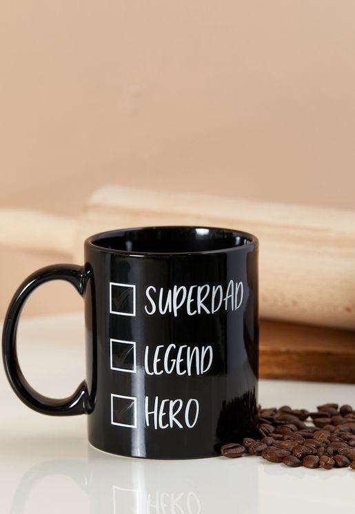 Super Dad Heat Change Mug