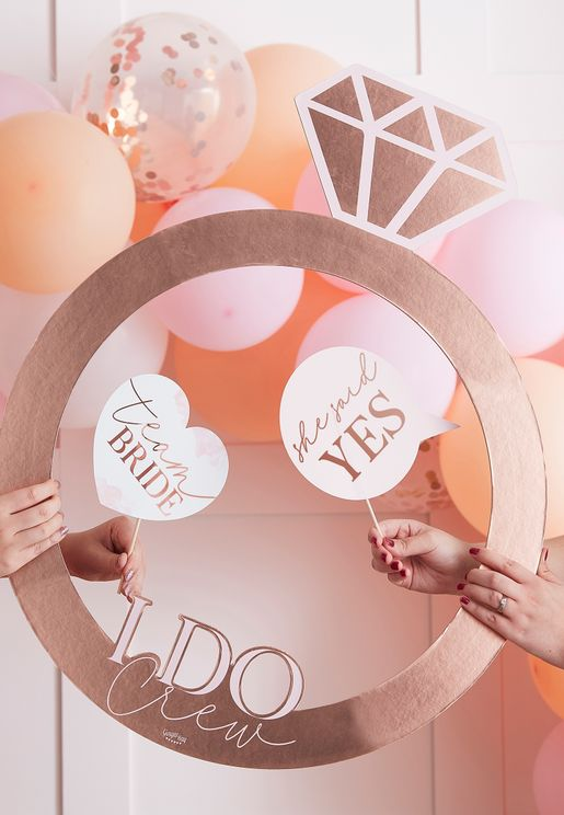Team Bride Photo Booth Props
