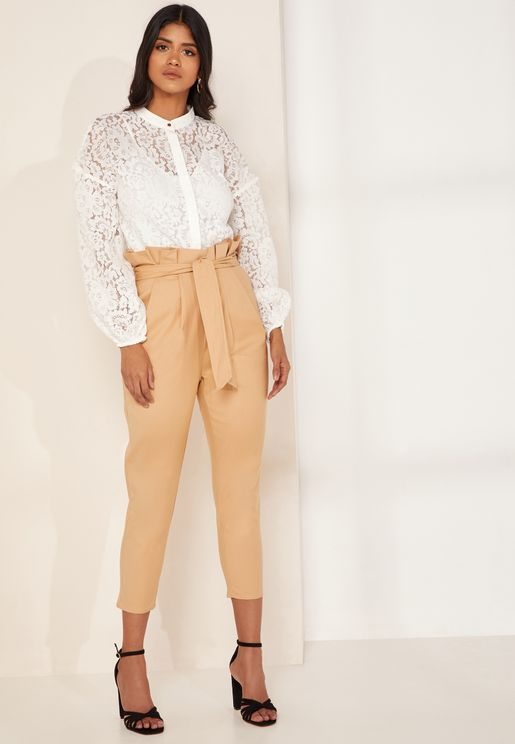 Ophelia High Waist Crop Pants