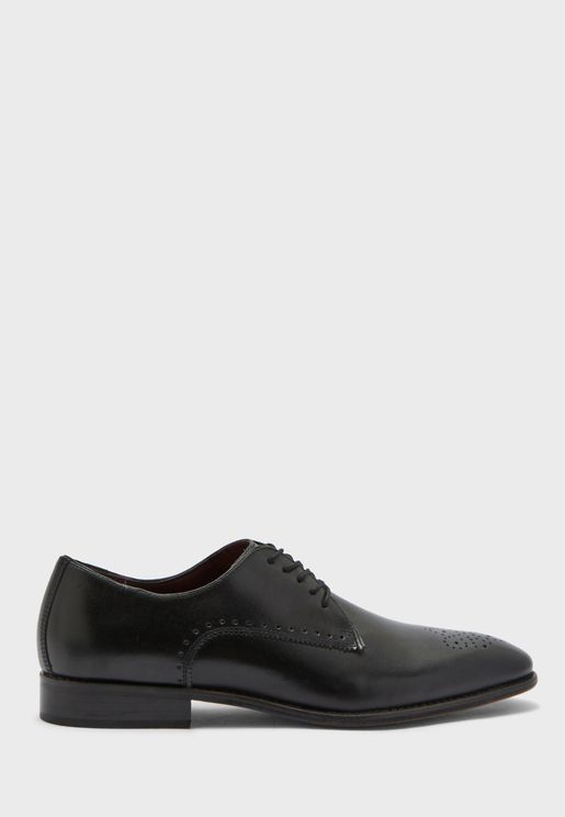 Brogue Derby Lace Up Shoe