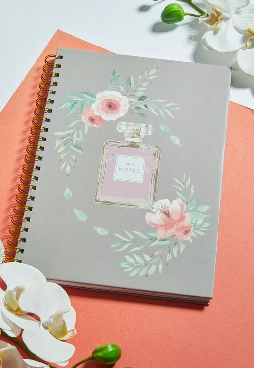 A4 No.5 Notes Perfume Notebook