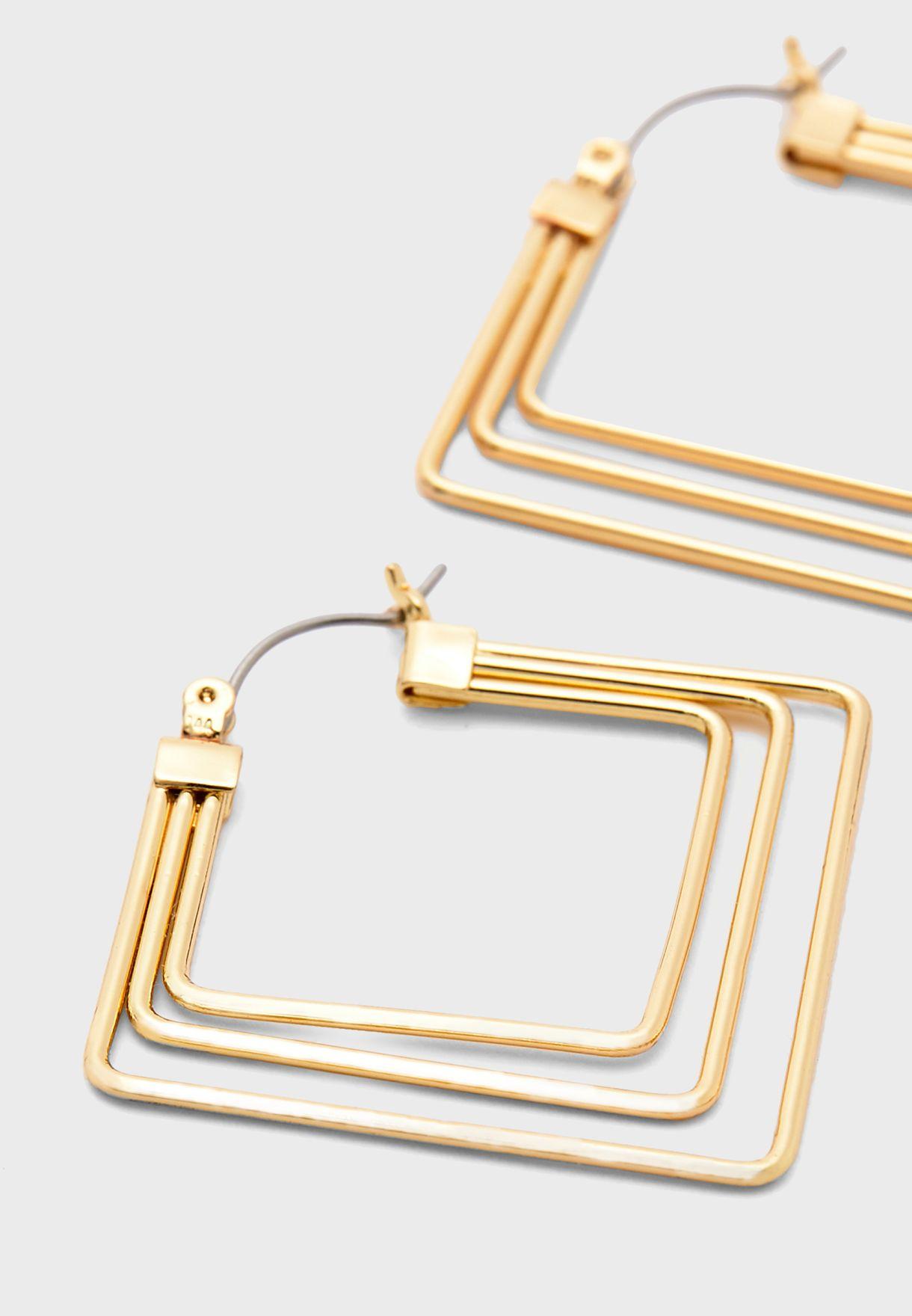 Alia Hoop Earrings